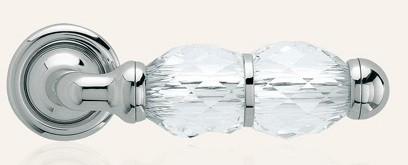 Klamka CRYSTAL 103 szyld okrągły CR chrom polerowany LINEA CALI