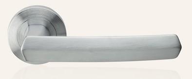 Klamka DAFNE 102 szyld okrągły CS chrom matowy LINEA CALI