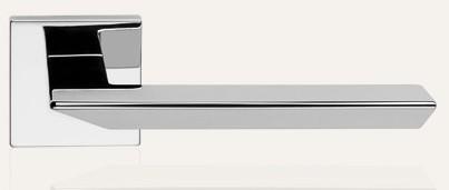 Klamka TRIO ZINCLAR 024 szyld kwadratowy CR chrom polerowany LINEA CALI