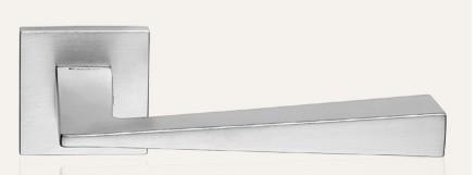 Klamka CONICA ZINCLAR 019 szyld kwadratowy CS chrom matowy LINEA CALI