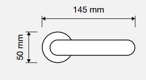 Klamka IDEA Crystal 103 OZ mosiądz pozłacany błyszczący LINEA CALI