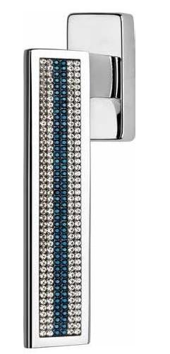 Klamka okienna RIFLESSO MESH BLUE 4-skokowa LINEA CALI