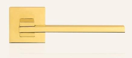 Klamka SLIM 019 OL mosiądz błyszczący LINEA CALI