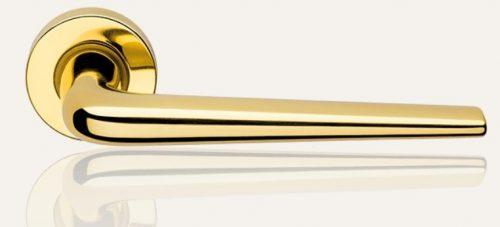 Klamka BRIXIA ZINCLAR 027 mosiądz lakierowany LINEA CALI